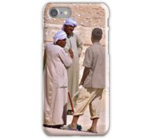 A Heated Discussion iPhone Case/Skin