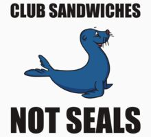 Club Sandwiches Not Seals One Piece - Short Sleeve