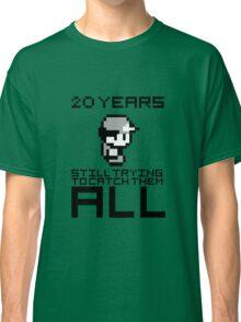 Pokemon 20 Years Anniversary Classic T-Shirt