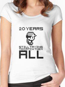 Pokemon 20 Years Anniversary Women's Fitted Scoop T-Shirt