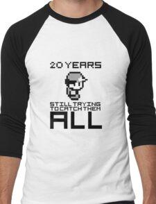Pokemon 20 Years Anniversary Men's Baseball ¾ T-Shirt