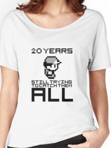 Pokemon 20 Years Anniversary Women's Relaxed Fit T-Shirt