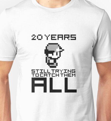 Pokemon 20 Years Anniversary Unisex T-Shirt