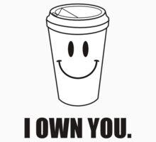 Coffee I Own You Kids Tee