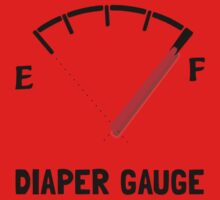 Diaper Gauge Baby Tee