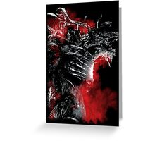 Blood of the Cleric Beast Greeting Card