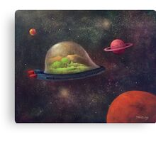 They Took Their World With Them Canvas Print