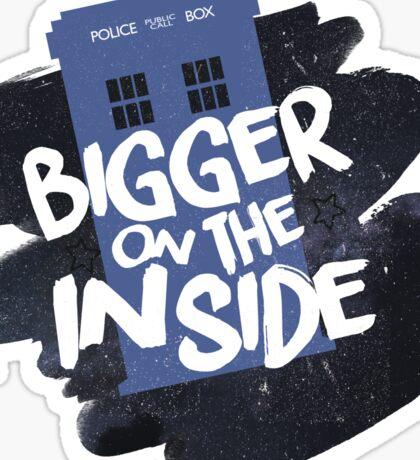 Doctor Who TARDIS Sticker