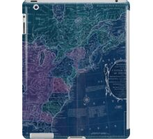 American Revolutionary War Era Maps 1750-1786 351 Bowles's new pocket map of the United States of America the British possessions of Canada Nova Scotia and Inverted iPad Case/Skin