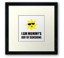 Mommys Sunshine Framed Print