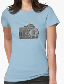 DSLR Womens Fitted T-Shirt