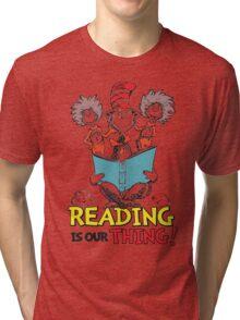 READ ACROSS AMERICA DAY - Dr Seuss Tri-blend T-Shirt