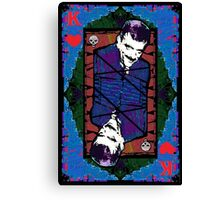 Gomez.The King Of Hearts. Canvas Print