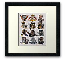 Arnie Cats Framed Print