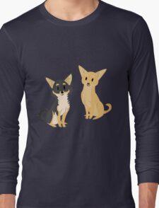 Cheeky Chihuahua Long Sleeve T-Shirt