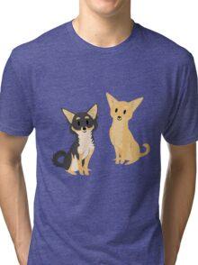 Cheeky Chihuahua Tri-blend T-Shirt