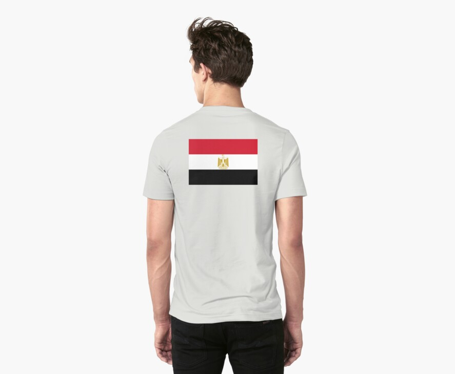 EGYPT, EGYPTIAN, Egyptian Flag, Flag of Egypt, Sinai Peninsula by TOM HILL - Designer