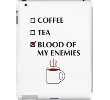 Blood of my Enemies iPad Case/Skin