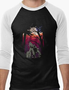 DOTA2: TINY IN THE JUNGLE Men's Baseball ¾ T-Shirt
