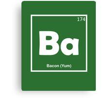 Bacon Yum Canvas Print