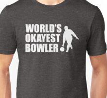 World's Okayest Bowler Unisex T-Shirt