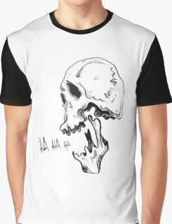 Laughing Skull Graphic T-Shirt