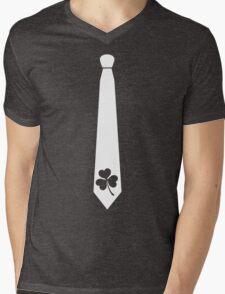 SHAMROCK TIE Mens V-Neck T-Shirt