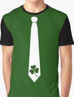 SHAMROCK TIE Graphic T-Shirt