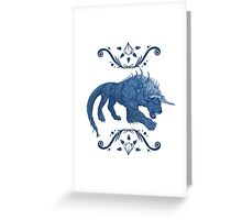 Behemoth Final Fantasy Greeting Card