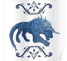 Behemoth Final Fantasy Poster