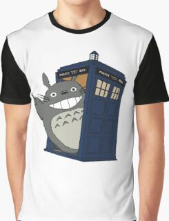 Totoro meets the tardis Graphic T-Shirt