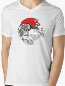 poked to death,Pikachu Mens V-Neck T-Shirt