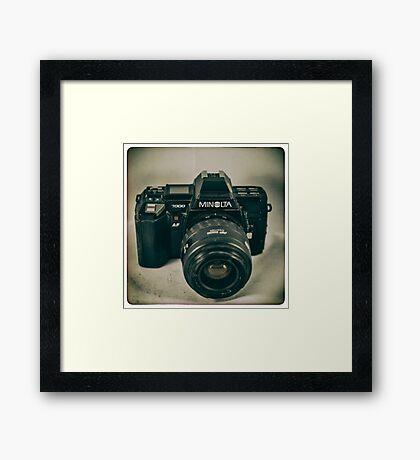 Minolta 7000 Framed Print