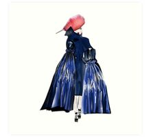 One of the fashion crowd! Art Print
