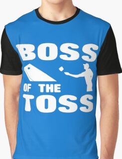 Cornhole Boss of the Toss Graphic T-Shirt