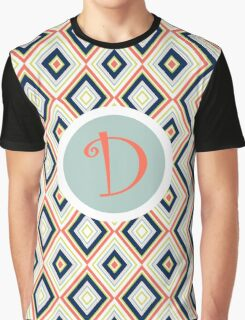 D Simple Graphic T-Shirt