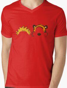 calvin and hobbes Mens V-Neck T-Shirt