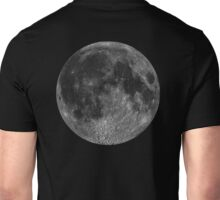 Lunar, MOON, Lunatic, Cosmos, Cosmic, Space, Near side of the Moon. Unisex T-Shirt
