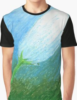 Flower in Pastel Graphic T-Shirt