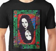 Morticia. The Queen Of Hearts. Unisex T-Shirt