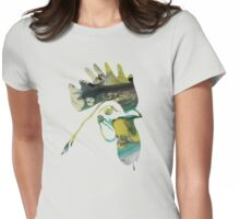 Angry Rooster Womens Fitted T-Shirt