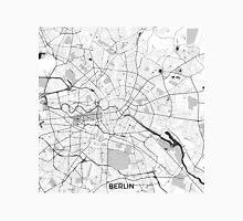 Berlin Map Gray Unisex T-Shirt