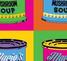 Mario Campbell Mushroom Soup Sticker