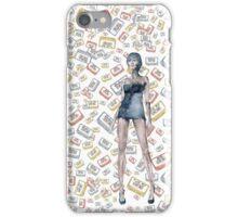 London Club Scene Punk Rock Girl  iPhone Case/Skin
