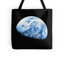 EARTH, PLANET, SPACE, Blue planet, Earthrise, Apollo 8, 1968 Tote Bag