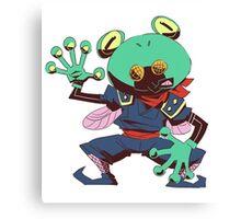 False frog Canvas Print