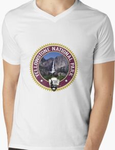 Yellowstone Mens V-Neck T-Shirt
