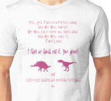 curse your sudden but inevitable betrayal, firefly, fuchsia Unisex T-Shirt