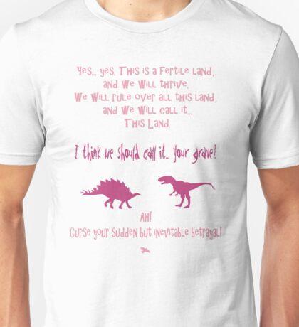 curse your sudden but inevitable betrayal, firefly, fuchsia Unisex T-Shirt