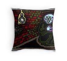 Nosferatu in a Corner COLORIZED Throw Pillow